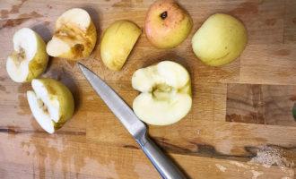 Подготовка яблок