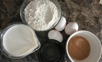 Ингредиенты на тесто для блинов