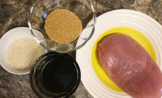 Ингредиенты для приготовления индейки