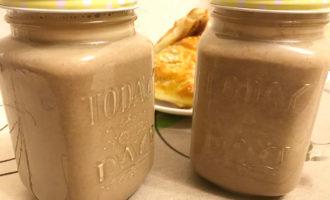 Какао напиток из кэроба с молоком