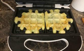 Картофельные вафли в электровафельнице