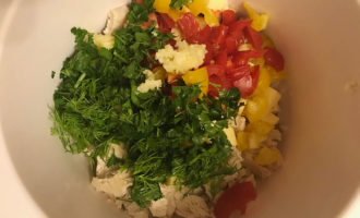 Рецепт салата баварского