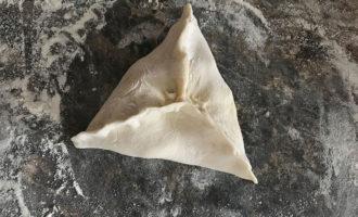 Самса треугольником