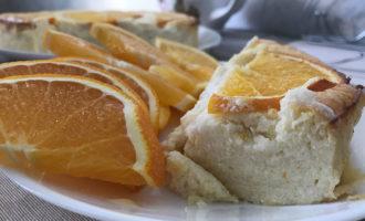 Запеканка с апельсином и творогом