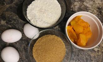 Ингредиенты для рулета из тыквы
