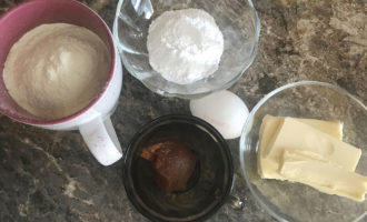 Ингредиенты для домашнего курабье