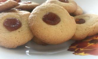 Вкусное печенье курабье