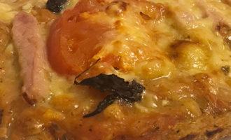 Пицца из цельнозерновой муки без дрожжей