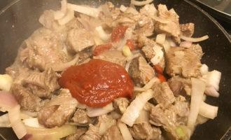 Томатная паста к мясу