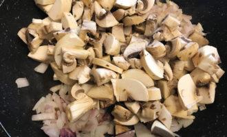Обжаривание грибов