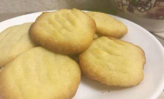 Датское сливочное печенье
