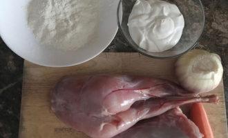 Рецепт с кроликом