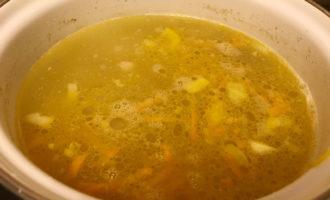 Суп с булгуром и овощами