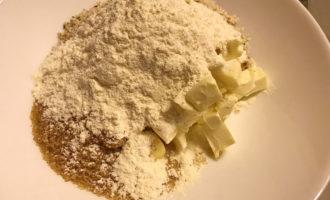 Рецепт кексов со штрейзелем