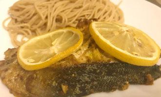 Запечённый лосось