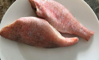 Рецепт морского окуня