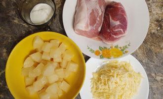 Рецепт запечённой свинины
