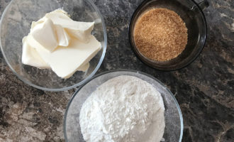 Ингредиенты для основы чизкейков