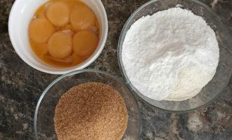 Ингредиенты для пирожного
