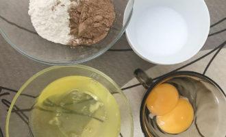 Ингредиенты для шоколадного пирога