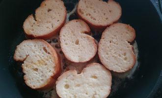 Рецепт гренок на сковороде