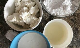 Ингредиенты для крема Вупи Пай